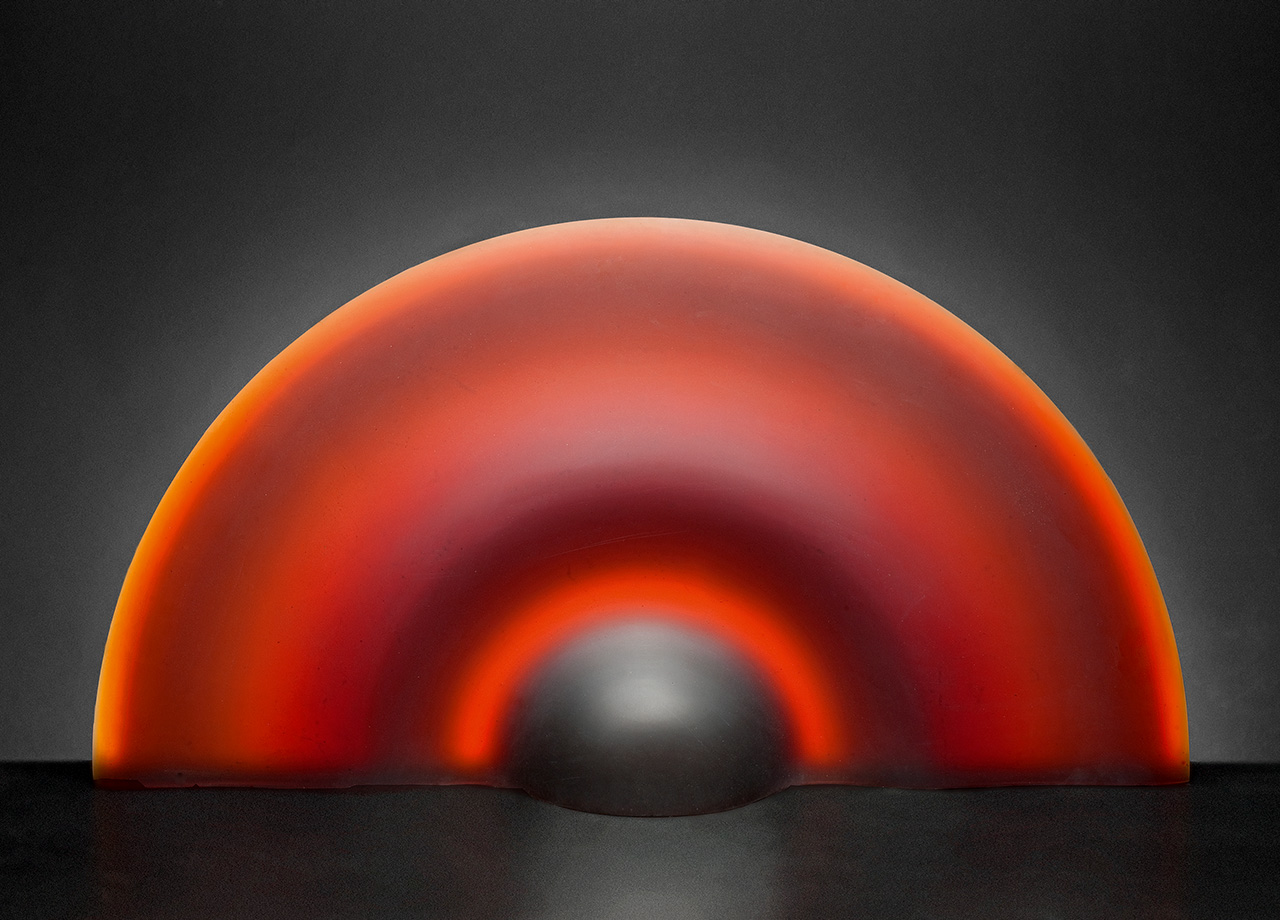 GlassArt: Ales Vasicek - Red Sphere