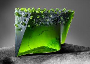 GlassArt: Josef Marek - Landscape Near Lara